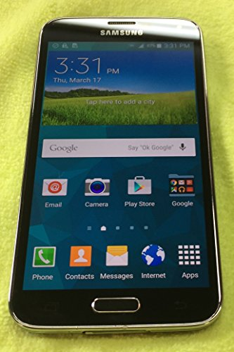 Samsung Galaxy S5 Black 16GB Boost Mobile 4G LTE (Galaxy Boost Phones S5 Mobile)