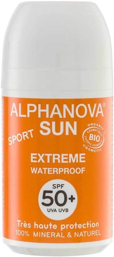 Alphanova - Protector solar spf 50 + roll-on 50 ml: Amazon.es: Belleza