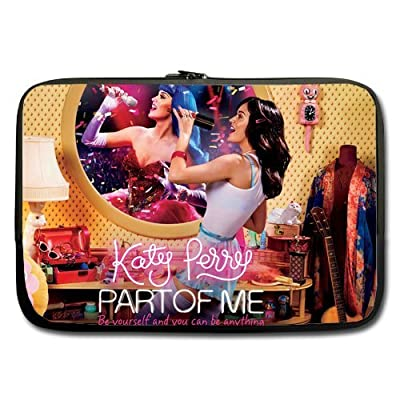 Neoprene Laptop / Notebook Sleeve katy perry hot singer Custom computer sleeve bag for Macbook Pro 15 inch (one sides