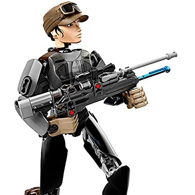 LEGO Star Wars Buildable Series Ultimate 3 Figure Set - Baze Malbus 75525, Jyn Erso 75119, Chirrut Îmwe 75524: Toys & Games