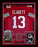 Maurice Clarett Framed Jersey Signed JSA COA Autographed Ohio State National Champions