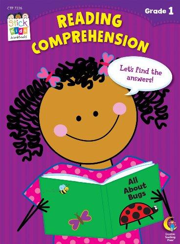 Reading Comprehension Stick Kids Workbook, Grade 1 (Stick Kids Workbooks)