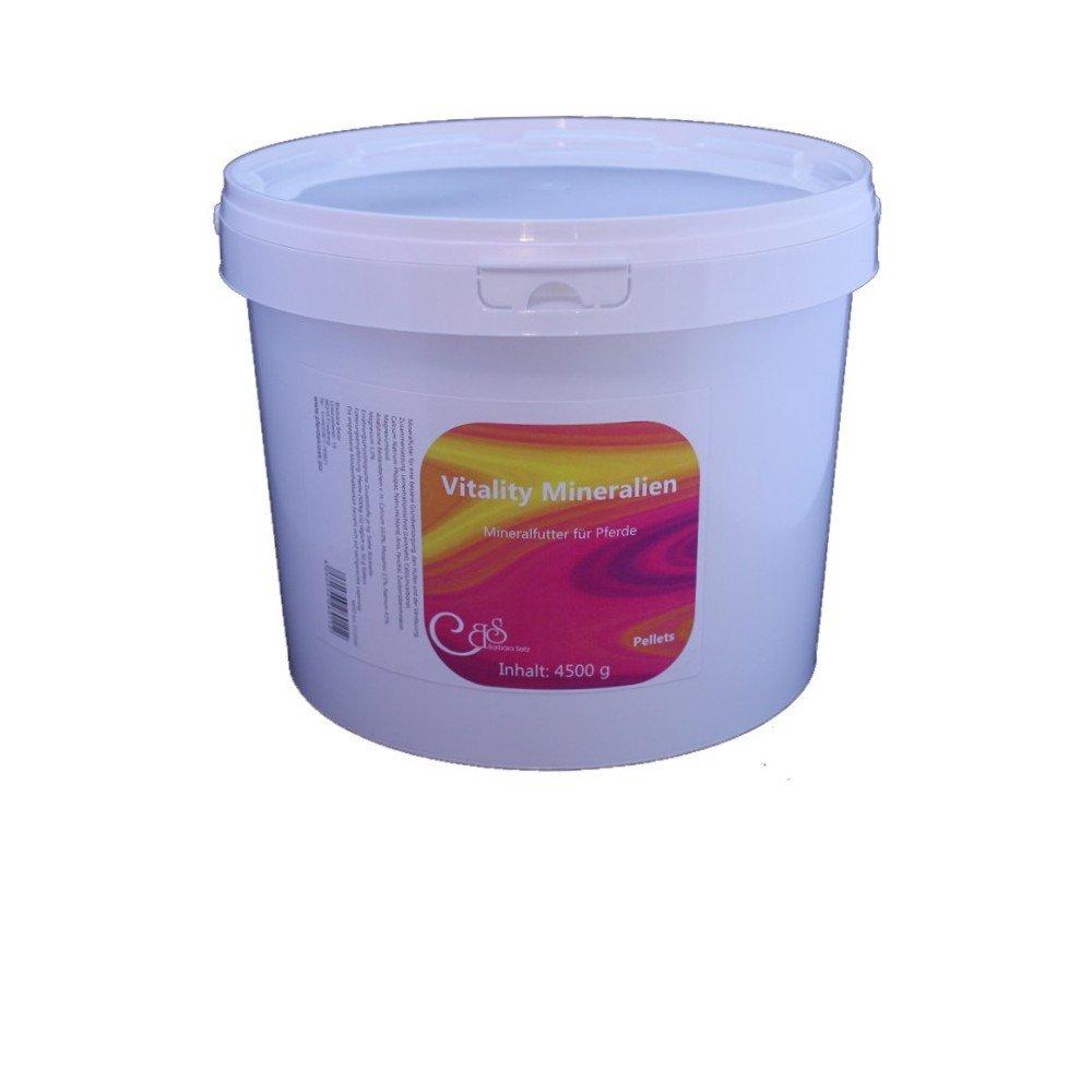 Barbara Seitz Vitality minerales Pellets 4500 g - Forro, Razón Alimentación, el Mineral hufen y de la Digestión para Caballos: Amazon.es: Productos para ...