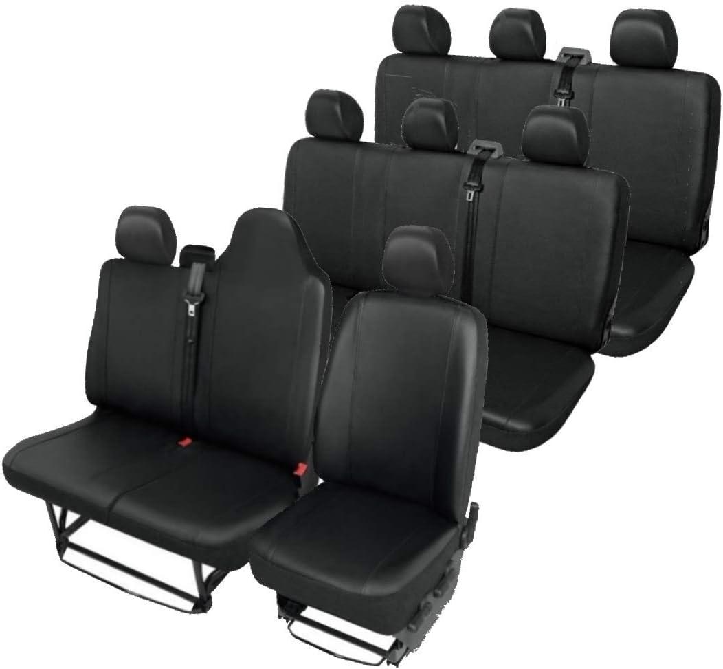 Z4l Sitzbezüge Vip Passgenau Geeignet Für Renault Trafic Ab 2014 9 Sitze 01 Auto