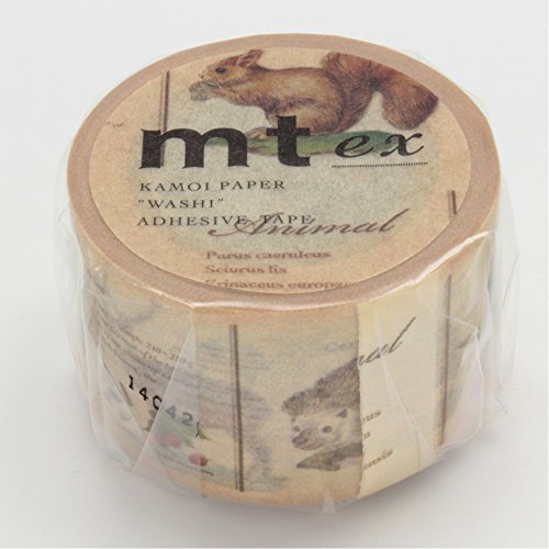 MT Masking Tape - Picture Book Animal (MTEX1P36)