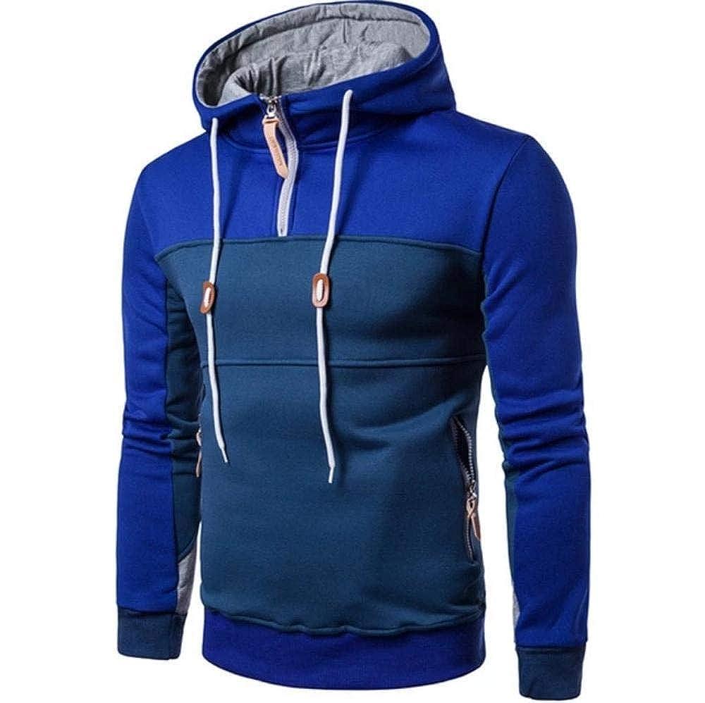 Winter Men Sweatshirts Long Sleeve Hoodie Tops Outwear