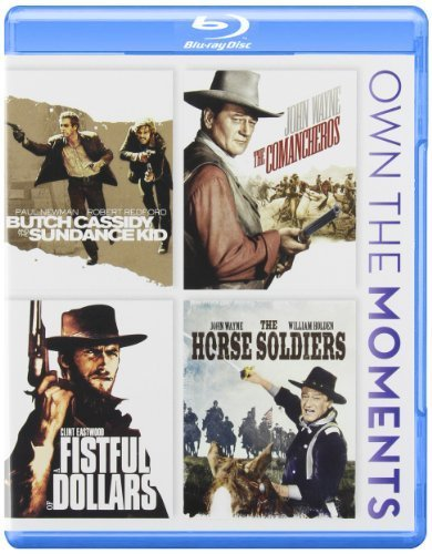 Butch Cassidy and the Sundance Kid , Fistful of Dollars , Ten Comancheros & the Horse Soldiers [Blu-ray] by 20th Century Fox