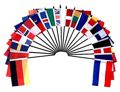 Flag Collection - Northwest Europe World Flag SET-20 Polyester 4