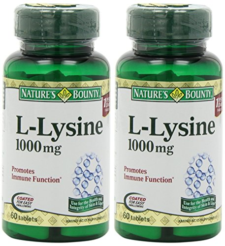 Nature's Bounty L Lysine, 1000mg, 60 Tablets