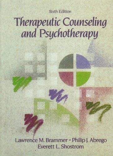 Therapeutic Counseling and Psychotherapy (6th Edition)