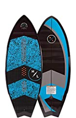 KEY FEATURES Swallow Tail extends rail grip while keeping the tail planted for improved control Monocoque Construction gives you ultra light weight and simple durability The Hyperlite Broadcast Wakesurfer is designed to give everyone a good t...