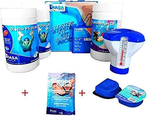 Well2wellness Pool Set de Inicio Tratamiento Del Agua 5 Piezas ...