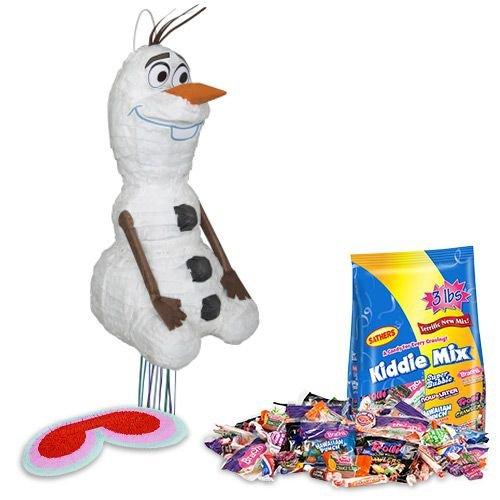 [Costume Supercenter BBPK152 Frozen Olaf Pinata Kit] (Pinata And Bat Costume)