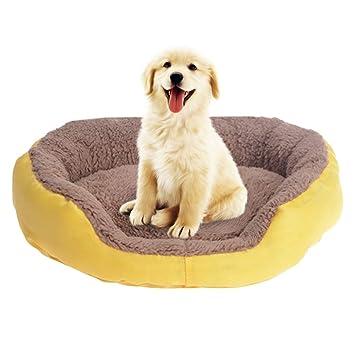 RWGJM Cachorro de Perro Cama Calentador de Invierno Perrera para Gato Canasta de Perro Mascota Cama