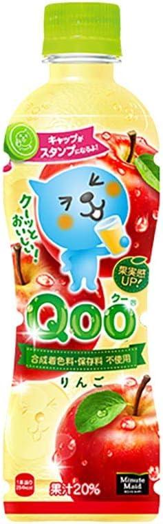 コカ・コーラ ミニッツメイド クー りんご PET 425ml 24本×2ケース