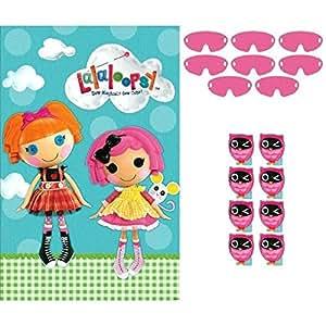 Amscan - Pack de juguetes para regalos de cumpleaños Lalaloopsy (271184)