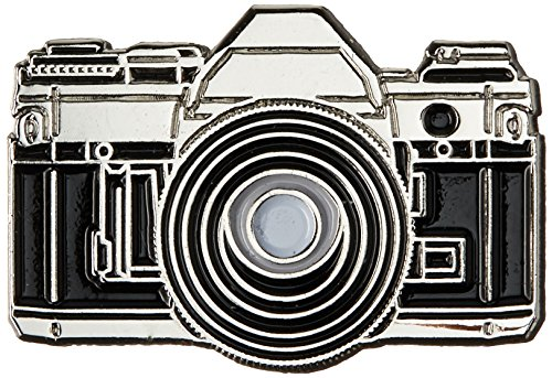 Price comparison product image 35mm Camera Enamel Pin