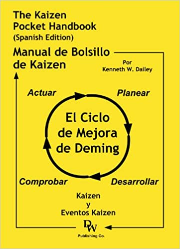 The Kaizen Pocket Handbook (Spanish Edition) - El Manual del Bolsillo de Kaizen (Spanish) Paperback – July 28, 2007