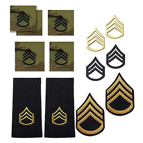 (US Army Staff Sergeant Rank Bundle)