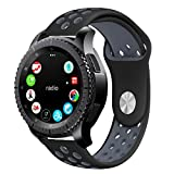 Gear S3 Band, KADES Soft Silicone Band Replacement Strap...