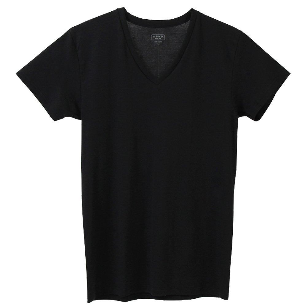 the GUNZE Mens V Neck T-Shirt