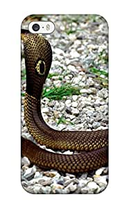MICHELLE KATSERES Case Cover For Iphone 5/5s - Retailer Packaging Snake Protective Case