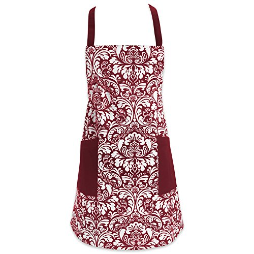 kitchen apron with pockets - 1