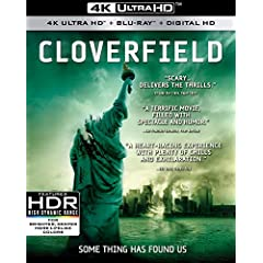 CLOVERFIELD and 10 CLOVERFIELD LANE get released on 4K Ultra HD and 4K HDR January 23rd from Paramount