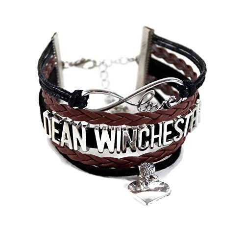 Show & Shine Supernatural Infinity Love Dean Winchester Multi Strands Layer Charm Bracelet by Show & Shine (Image #3)