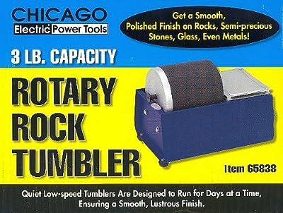 3 Lb. Rotary Rock Tumbler