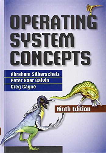 Operating System Concepts cover