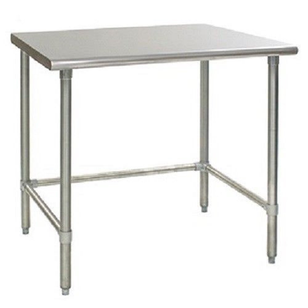 WORKTABLE SG WORK TABLE WITH REMOVABLE CROSSBAR. NSF APPROVED. (36'' Long x 18'' Deep)