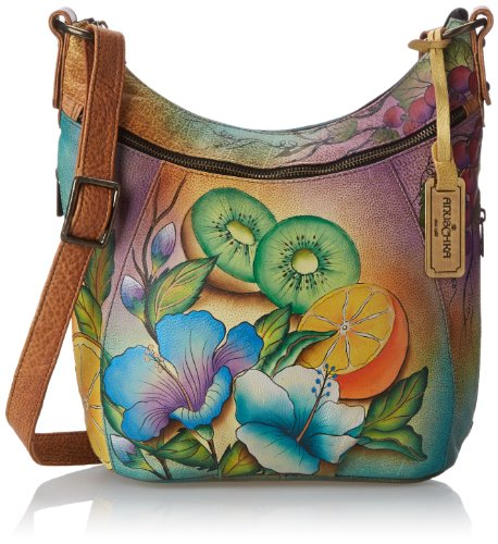 Anuschka 505 Shoulder Bag,Fruity Fiesta,One Size