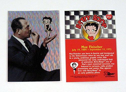 2001 Dart Betty Boop Case Topper Chase Card (CT-1) Max Fleischer Nm/Mt