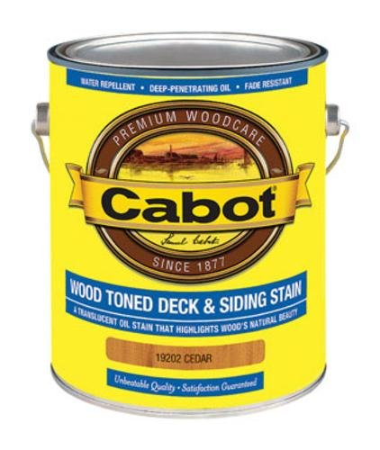 (CABOT SAMUEL 19202-07 INC GAL CED WD Deck Stain, Cedar)