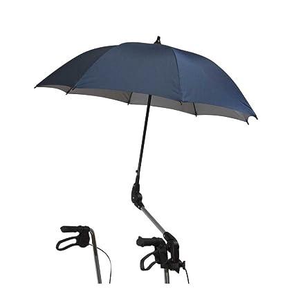 1 x Behrend Andador pantalla sombrilla paraguas, fibra de ...