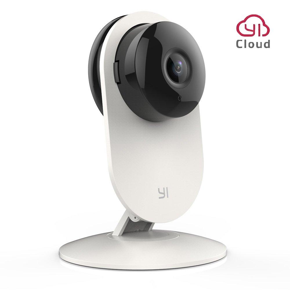 YI telecamera di sorveglianza 1080p telecamera di sicurezza ip camera wifi Full HD con sensore di movimento e controllo Remoto Kit da 4 archiviazione in YI Cloud disponibile