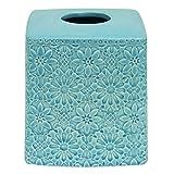 Bacova Guild Jessica Simpson Bonito Blue Tissue Cube