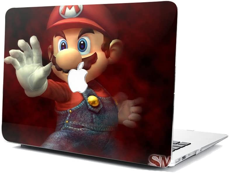 GSPSTORE MacBook Model A1369//A1466 Case,Mario Pattern Hard Shell Protector Cover for MacBook Air 13 Inch Model A1369//A1466#05