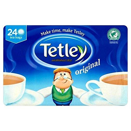 Tetley Tea Bags 240 per pack - Pack of 6 by Tetley