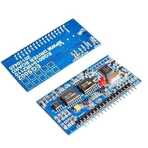 - WINGONEER DC-AC Pure Sine Wave Inverter SPWM Board EGS002 EG8010 + IR2110 Driver Module