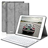BAIKEN iPad Keyboard Case 9.7 for iPad 2018(6th Gen)/iPad 2017 (5th Gen)/iPad Pro 9.7/iPad Air 2&1 - iPad Case with Detachable Bluetooth Keyboard