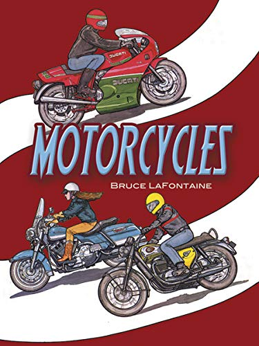 - Motorcycles Coloring Book (Dover History Coloring Book)