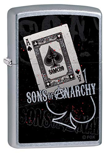 Zippo Lighter: Sons of Anarchy, Ace of Spades - Street Chrome 80142