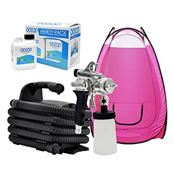 Maxi-Mist PRO HVLP Airbrush Spray Sunless BLACK Machine Tanning TENT MaxiMist  sc 1 st  Amazon.com & Amazon.com : Maxi-Mist PRO HVLP Airbrush Spray Sunless BLACK ...