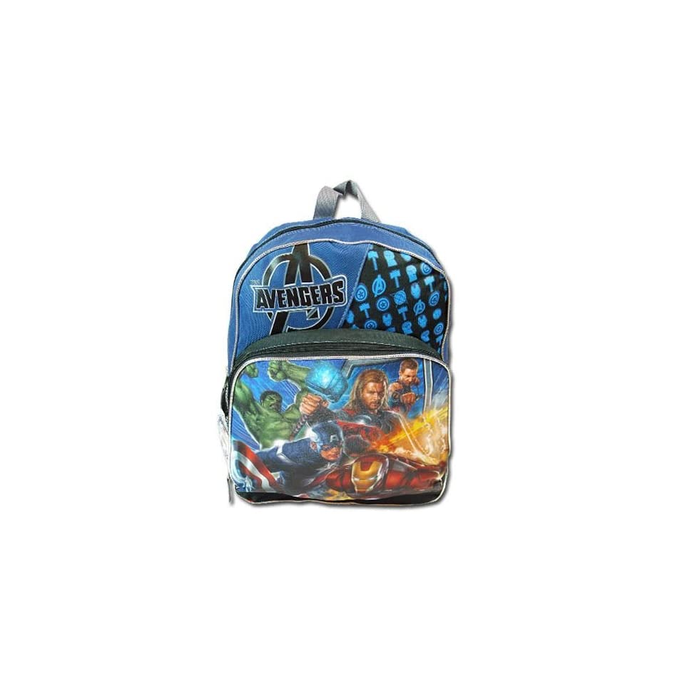 """Birthday Christmas Gift   Super Heroes Avengers Large Backpack and Tumbler Set, Backpack Size Approximately 16"""" Toys & Games"""