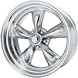 "American Racing Custom Wheels VN515 Torq Thrust II 1 Pc Polished Wheel (15x7""/5x114.3mm, -6mm offset)"