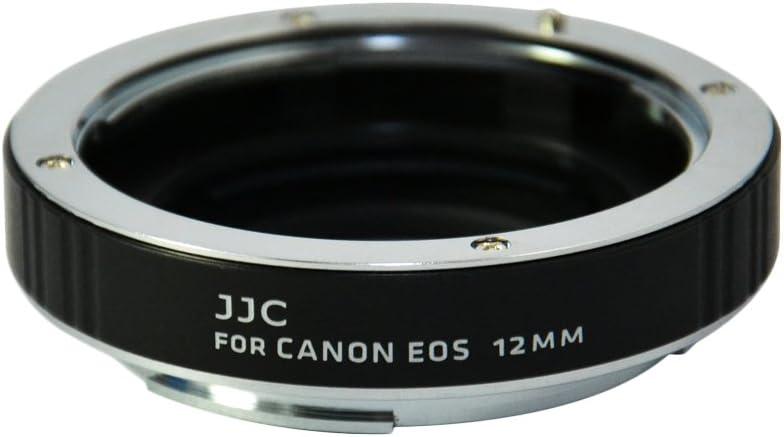 JJC 12//20//36mm Auto Focus AF Macro Extension Tube Set for Canon EOS Rebel SL1 XT XTi XS XSi T1i T2i T3 T3i T4i T5 T5i Digital SLR Camera