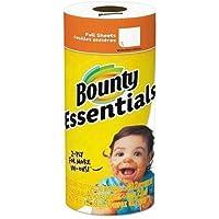Bounty Essentials Toalla de Papel, Color Blanco, 30 por Caja