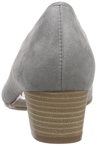 Donna Grau015 Tacco Perle SemlercleoScarpe Con TKFc1l3J